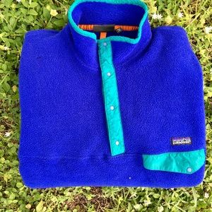 Vintage Patagonia buttonup sweater jacket
